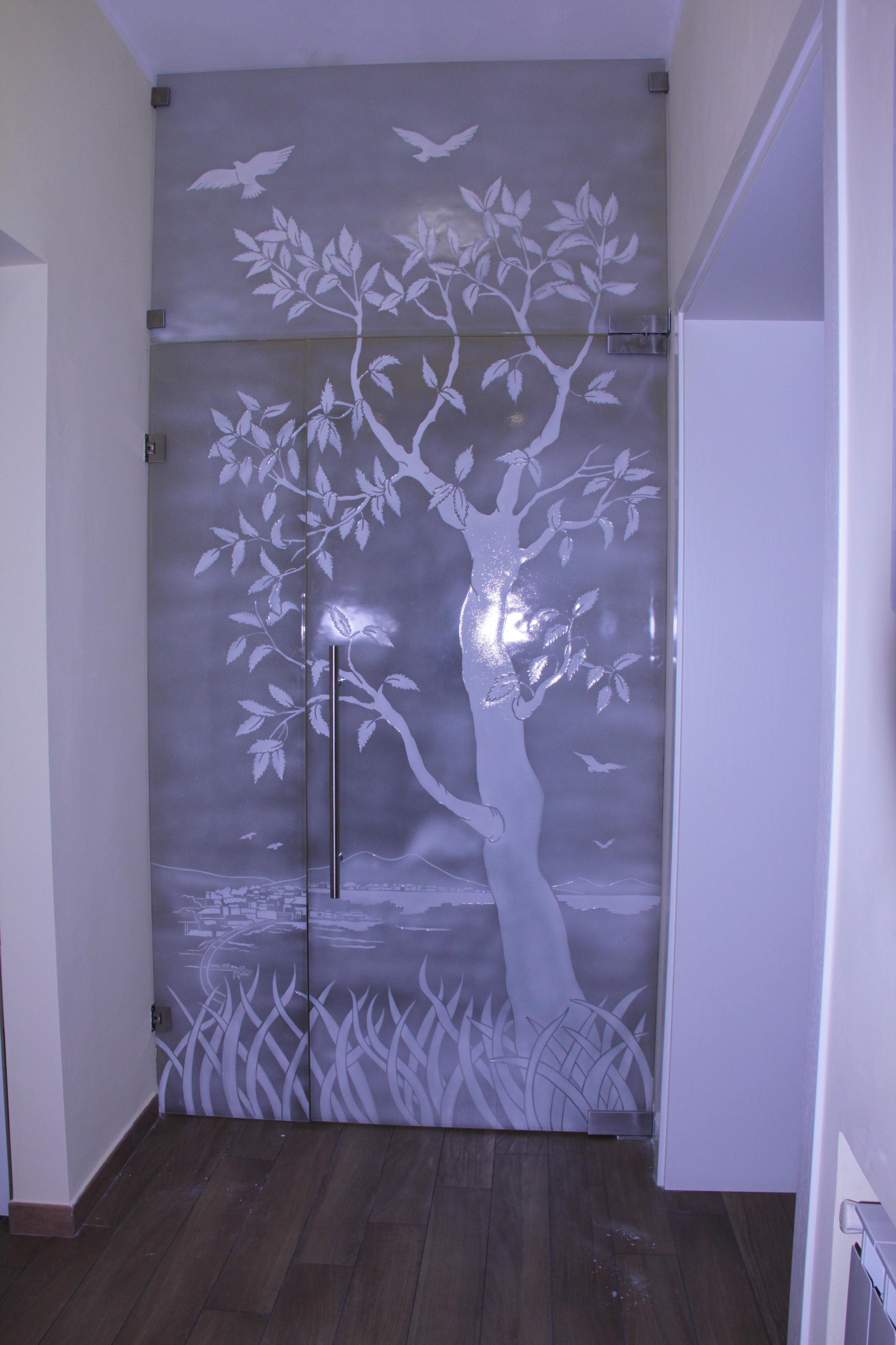 Porte in vetro vetro per porte e vetri per finestre vetreria mackingtosh - Vetri termici per finestre ...